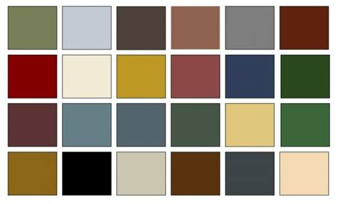 american colonial color palette for the home paint colors color interior and