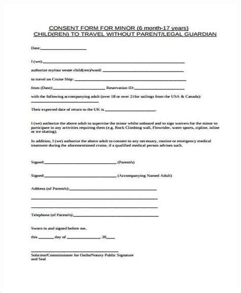 travel consent letter for minor india child travel consent india child travel consent