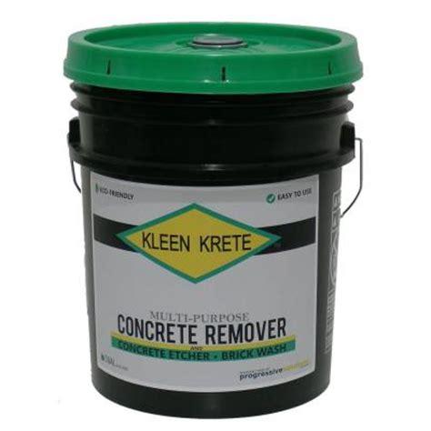 Dissolver Floor Remover - 5 gal multipurpose concrete remover dissolver and brick