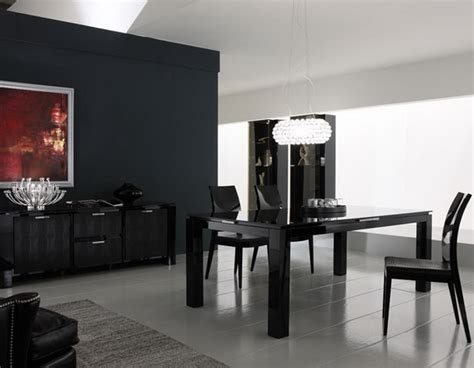 Black Dining Room Ideas by Sophisticated Black Dining Room Decor Ideas Abpho