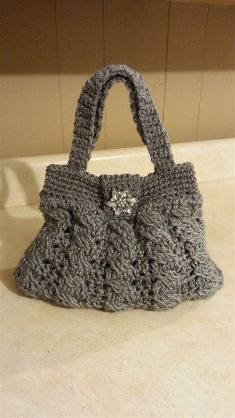 Bag Pattern Youtube | crochet arabel cable stitch handbag purse tutorial diy