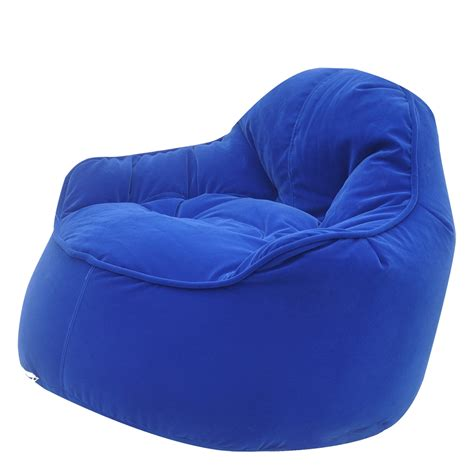 beanbag armchair mini me pod bean bags in blue modern bean bag chair