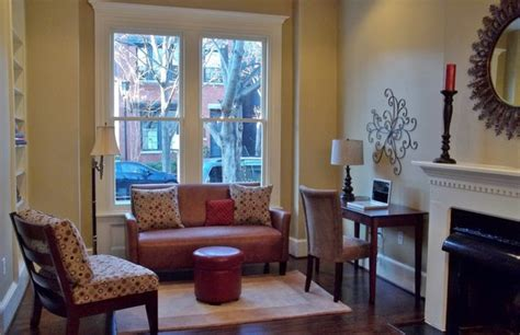 row home living room ideas after staging 1800 s row house sitting living room