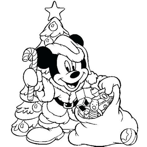 christmas mickey mouse coloring pages to print mickey mouse christmas coloring pages printable download