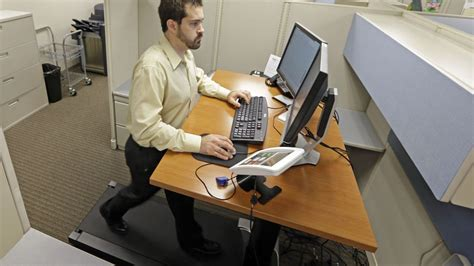 treadmill for desk at work treadmill desk makes you smarter says study