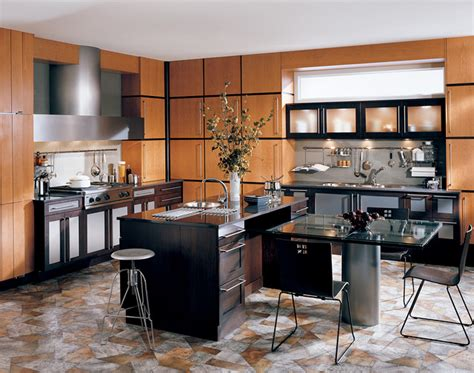 deco kitchen contemporary by wood mode custom
