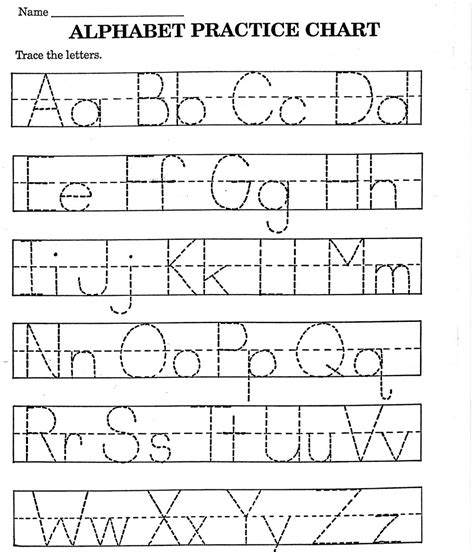 printable alphabet tracing kindergarten alphabet tracing worksheets fun loving