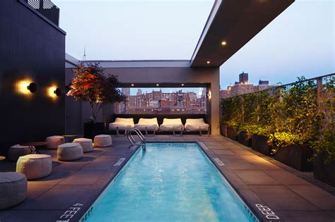 roof top bars in nyc best hotel and rooftop pools in nyc you can actually go to