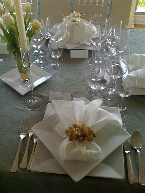 beautiful table settings 25 best ideas about table plate setting on pinterest