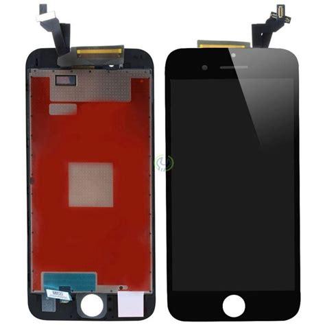 iphone 6s plus lcd display glas original svart