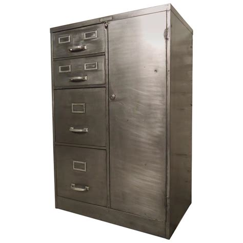 Industrial Cabinets by Industrial Metal File Cabinet At 1stdibs