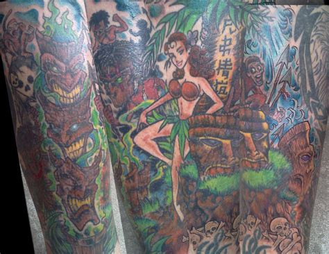 tiki tattoo nyc tiki tattoo long time coming by shannonritchie on deviantart