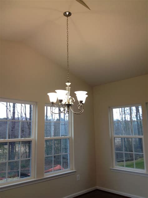 Ceiling Fan And Chandelier In Same Room by Ceiling Fans And Chandelier Installed Dreaming Of A