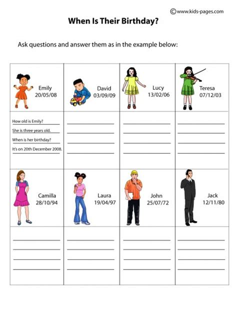 printable version of how it works kids work sheets search results calendar 2015