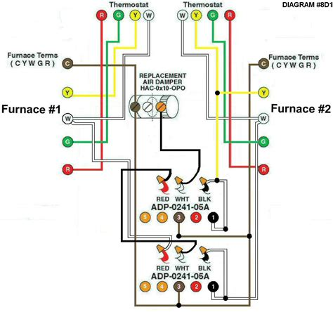 wiring diagram air conditioning thermostat conditioner