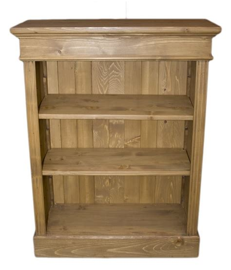 Small Pine Bookcase Solid Wood Interiors Gt Pine Bookcase Small 2 Adjustable