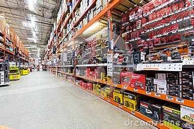 home depot paint aisle aisle in a home depot hardware store editorial stock photo