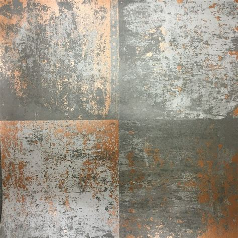industrial wall holden decor metal panel wallpaper on trend is this