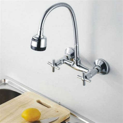 wall mount kitchen faucet install choose the best wall