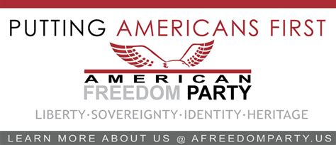 American Independent Also Search For Two American Freedom Leaders Speak Out About Their Independent Political