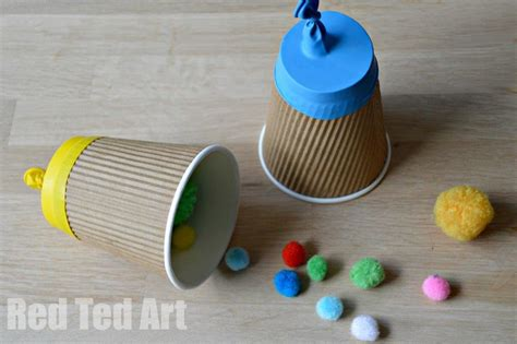 paper cup crafts paper cup popper craft ted s