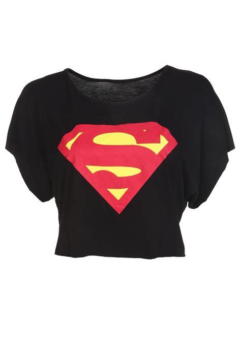 Cheap Duvet Covers Online Black Superman Crop Top Womens Clothing Sale Womens