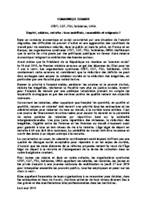 modele lettre intention de greve document