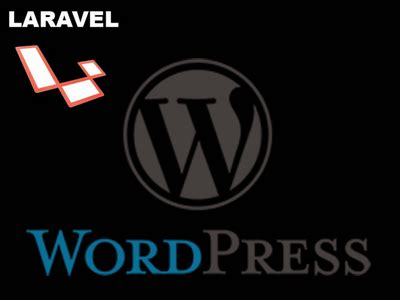 laravel oop tutorial how to add a wordpress blog to your laravel application