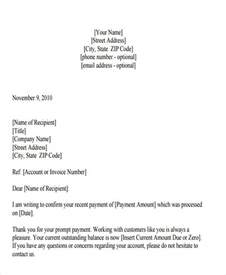 thank you letter format free premium templates