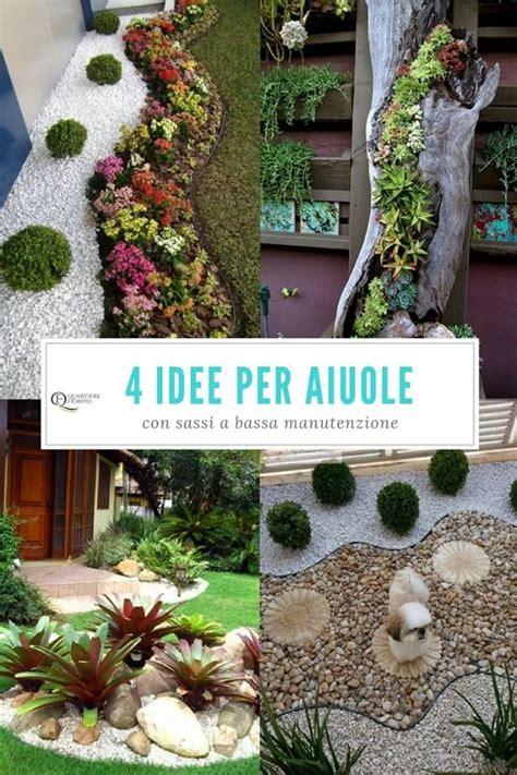 Aiuole Con Sassi E Piante by Oltre 25 Fantastiche Idee Su Progetti Per Piccoli Giardini