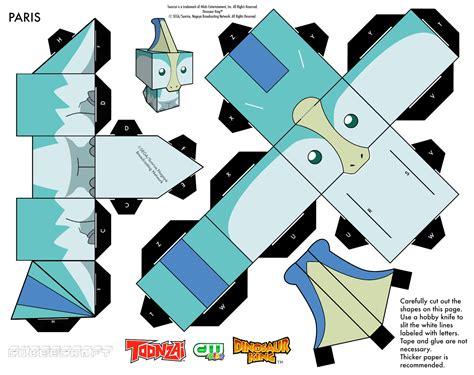 Dinosaur Papercraft - paperworld 08 28 12