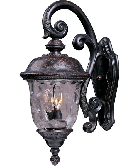 Carriage Outdoor Lights Maxim Lighting 40497 Carriage House Vx 13 Inch Wide 3 Light Outdoor Wall Light Capitol