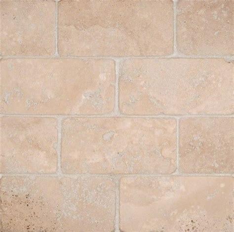tilesbay 3x6 tumbled durango cream travertine tile wall and floor tile houzz