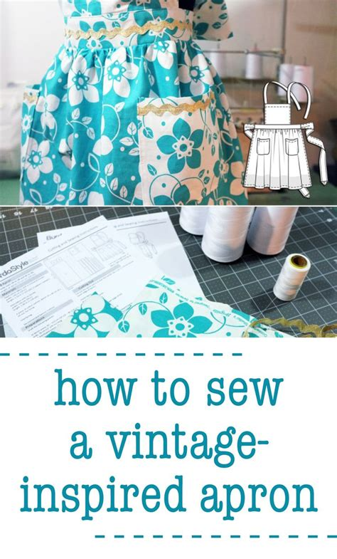 apron pattern martha stewart how to sew your own vintage inspired apron martha