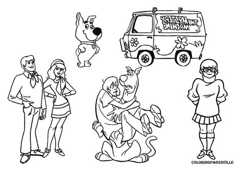 Scooby Doo Coloring Books In Bulk