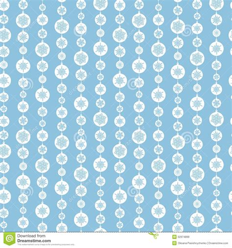 white pattern on blue blue and white snowflakes stripes seamless pattern stock