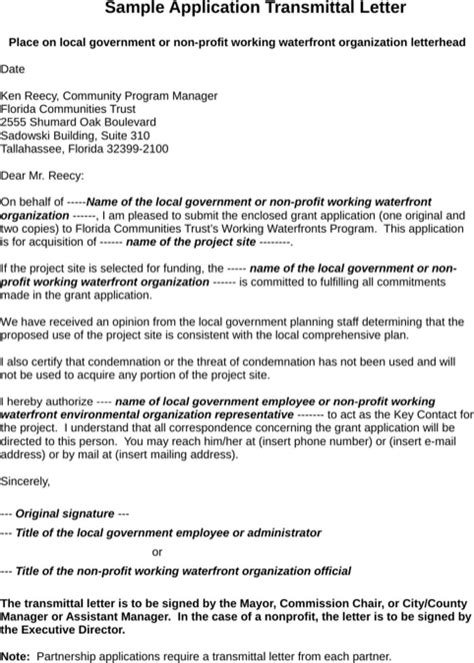 Transmittal Letter Pdf letter of transmittal exle for free formtemplate