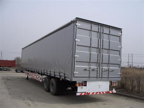 side curtain trailer china hot sale 13 14 6m aluminum wing van trailer