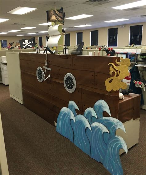 Decoration Theme Pirate by Pirate Ship Cubicle Costumes In 2019