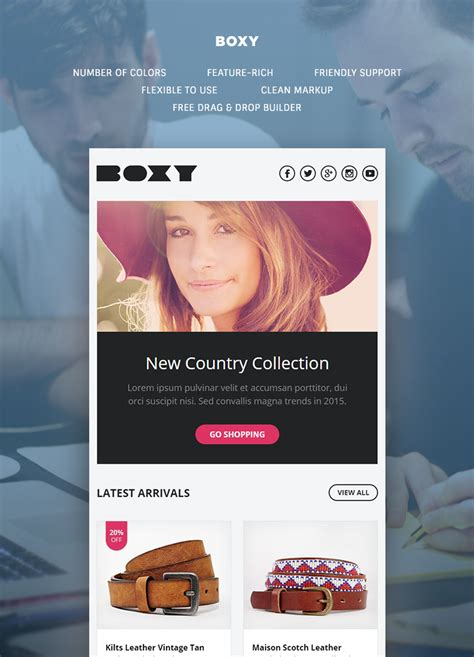Boxy Premium boxy multipurpose responsive template buy premium boxy