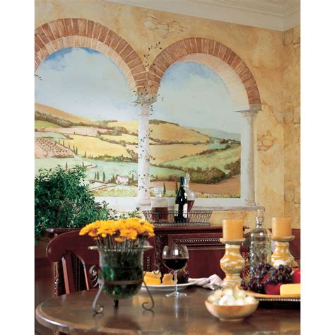 italian wall murals tuscan view wall mural italian country side wallpaper