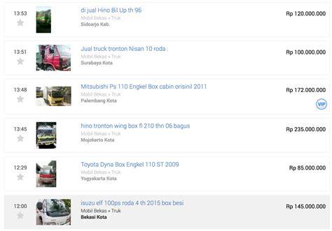 Jual Freezer Bekas Makassar lelang truk bekas 2017 berita logistik dan transportasi indonesia