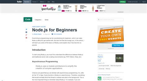node js tutorial for beginners with exles want to learn node js here are some useful tutorials