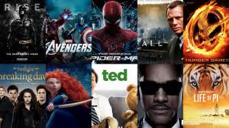 Famous Movies by Top 10 Best Hollywood Movies Of 2012 News
