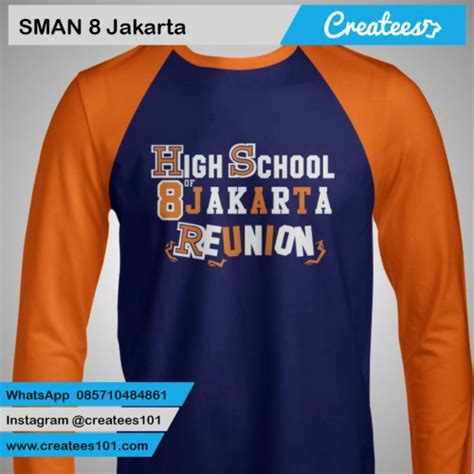 Tshirt Kaos A7 by 36 Kaos Reuni Sman 8 Jakarta Createes