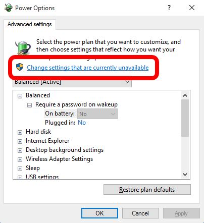 windows 7 reset password greyed out solved advanced power settings greyed out require a
