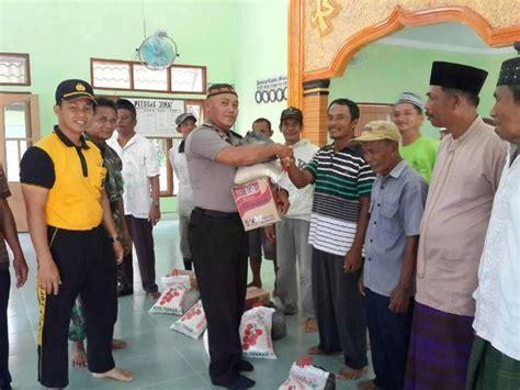 Tali Empeng jelang ramadhan pengusaha aheng serahkan bantuan tali kasih
