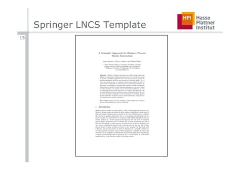 Lncs Latex Template Templates Data Waf Project Template