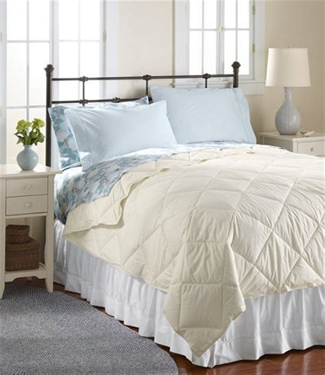 llbean bedding primaloft thermobalance comforter free shipping at l l bean