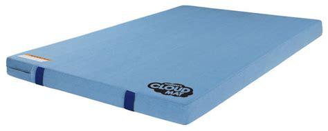 denim covered cloud landing mat